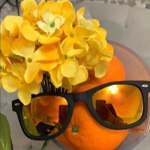 NEW Boutique! Orange/Black Beach Blast Sunglasses